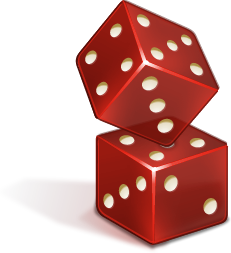 Casino, Dice Icon