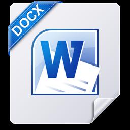 Document, Docx, File, Win Icon