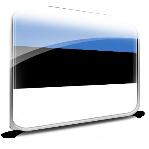 Estonia, Flag Icon