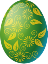 Easter, Egg, Green Icon