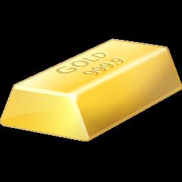 Bar, Bullion, Gold Icon