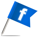 Facebook, Flag Icon