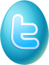 Easter, Egg, Twitter Icon