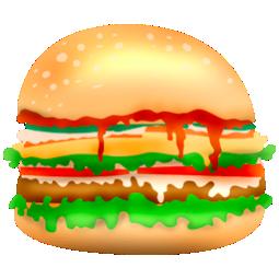 Burger, Fast, Food, Hamburger, Junk Icon