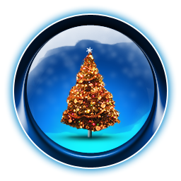 Christmas, Dooffy, Ikony, Tree Icon