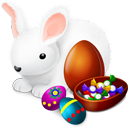Bunny, Chokolate, Easter Icon