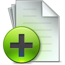 Add, Document Icon