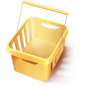 Basket, Cart, Ecommerce, Shopping, Webshop Icon