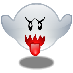 Boo, Ghost Icon