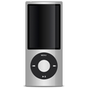 Apple, Ipod, Silver Icon