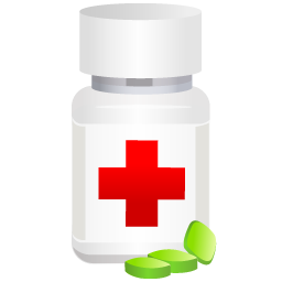 Medical, Medicine, Pills, Pot Icon