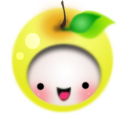 Addison, Apple, Baby, Pea Icon