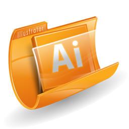 Adobe, Folder, Illustrator Icon