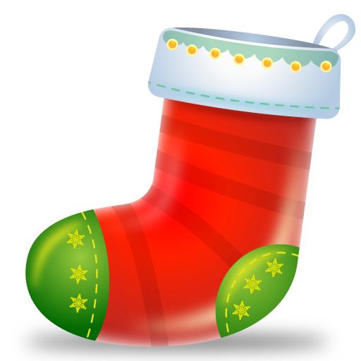 Boot, Christmas, Sock Icon