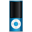 Apple, Blue, Ipod Icon