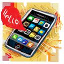 Hello, Iphone Icon