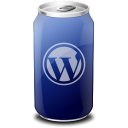 Drink, Texto, Web, Wordpress Icon