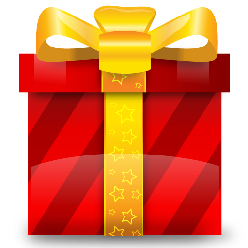 Christmas, Gift, Present, Prize Icon