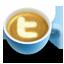 Coffee, Latte, Twitter Icon