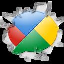 Buzz, Google, Inside, Texto Icon