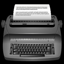 Editor, Publish, Typewrite Icon
