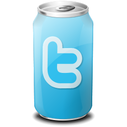 Bottle, Can, Drink, Twitter Icon