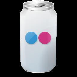 Drink, Flickr, Texto, Web Icon