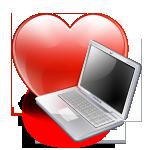 Computer, Favorite, Heart, Love Icon