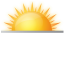 Rise, Sun, Sunrise, Weather Icon