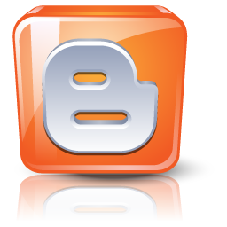 Blogger, Orange Icon