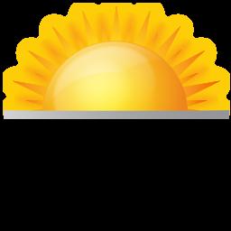 Rise, Sun, Sunrise, Weather Icon