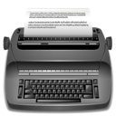 Editor, Publish, Typewrite Icon