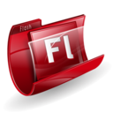 Adobe, Flash, Folder Icon