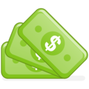 Accounting, Cash, Money Icon