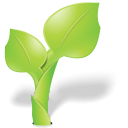 Garden, Green, Leaf, Nature, Organic, Plant Icon