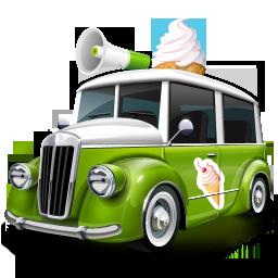 Cream, Ice Icon
