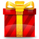 Christmas, Gift, Present, Prize Icon
