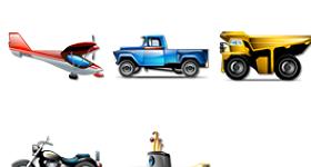 Transportation Brilliant Icons