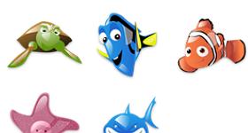 Finding Nemo Icons