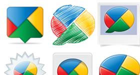 Google Buzz Icons