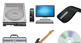 Icons Unleashed Vol. 1 Computer Hardware Icons