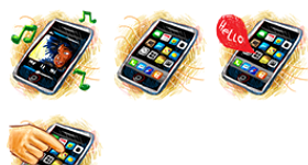 iPhone Sketch Icons