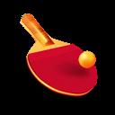 Ball, Bat, Ping, Pong, Racket, Table, Tennis Icon