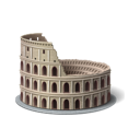Colosseum, Rome, Tourism Icon