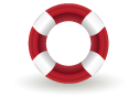 Float, Help, Life, Ring, Support Icon