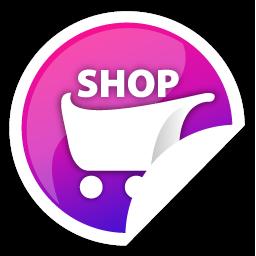 Purple, Shop Icon