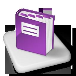 Book, Color, Ms, Onenote Icon