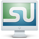 Monitor, Screen, Stumbleupon Icon