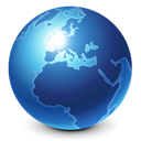 Blue, Browser, Earth, Globe, Internet, World Icon