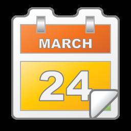 Calendar, Date, Event, March Icon